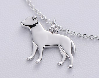 Pit Bull Necklace, Pit Bull Jewelry, Pet Jewelry, Dog Necklace