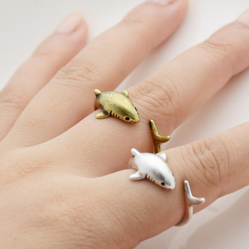 9. Shark Adjustable Ring