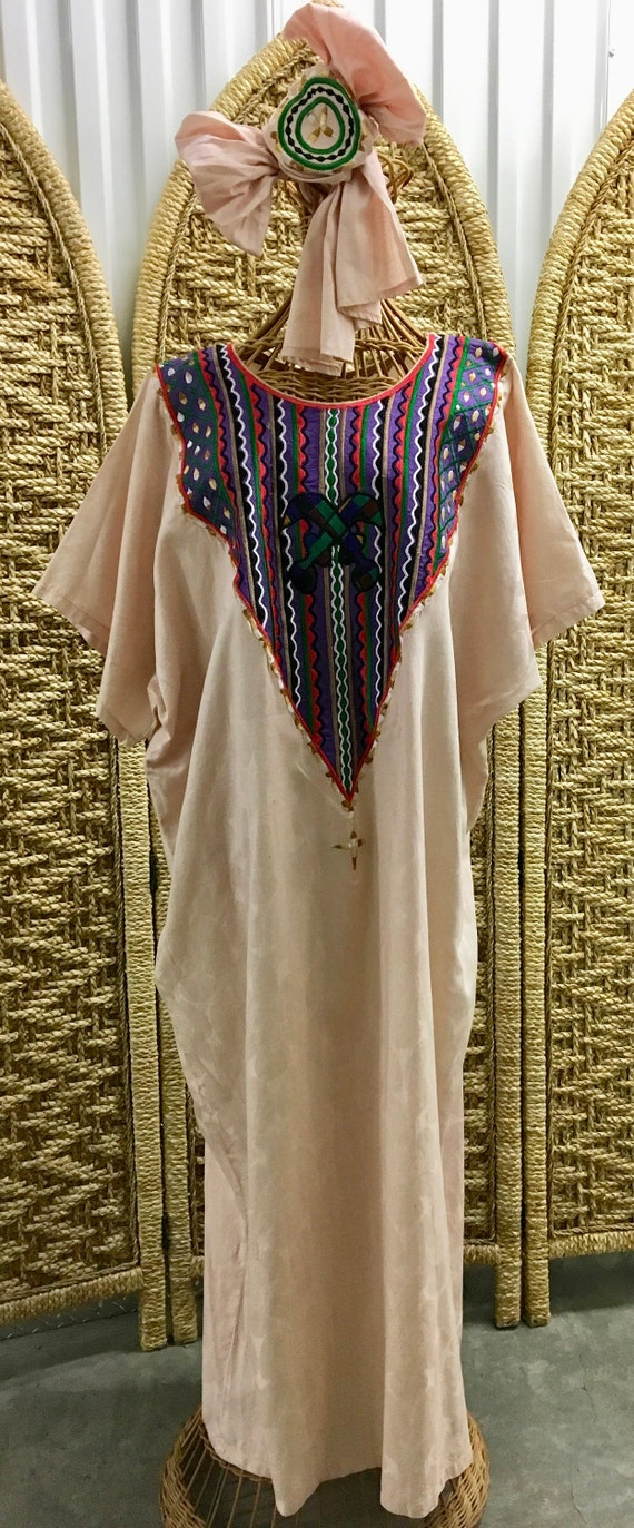 Vintage Ghanaian Kaftan & Headscarf