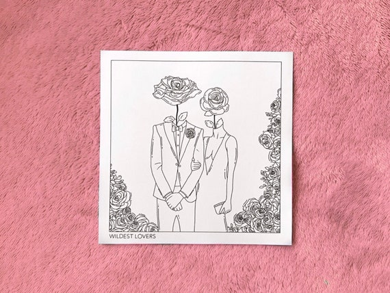 Aesthetic Art Prints Wildest Lovers 5 Options Love Love Etsy