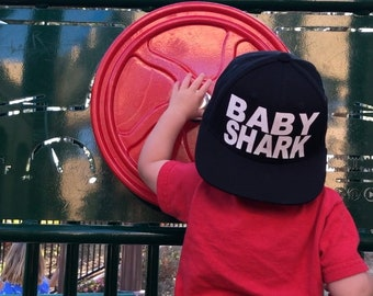 7c0e3f677dc9c Infant toddlers BABY SHARK Snapback
