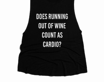 Does running out of wine?