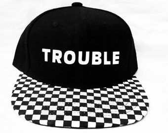 Infant toddlers kids and adults Trouble SnapBack
