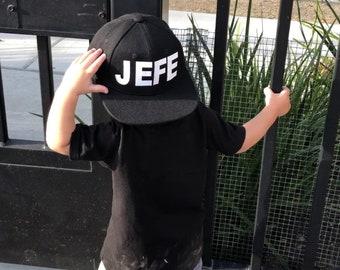 EL JEFE snapbacks