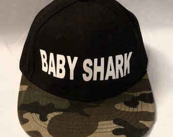 7555122c73853 Infant toddlers BABY SHARK snapback