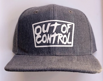 Infant toddlers Out of control Punk kid Denim  SnapBack