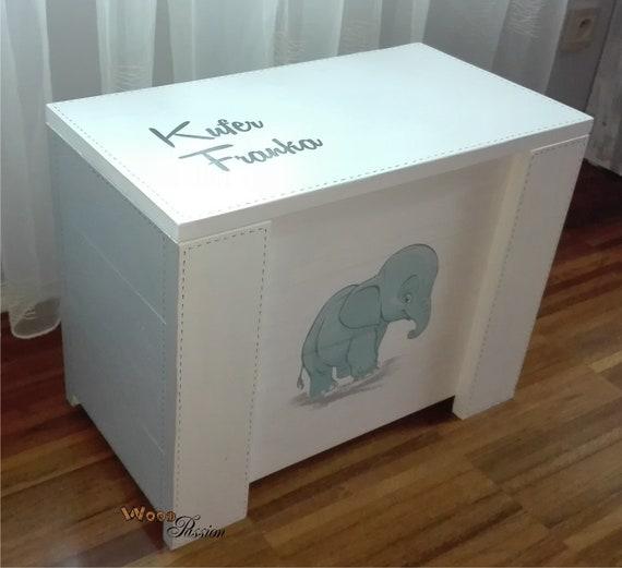 Wooden Box For Toys Koffer Für Spielzeug Ein Geschenk Für Ein Kind Kufer Na Zabawki Prezent Dla Dziecka