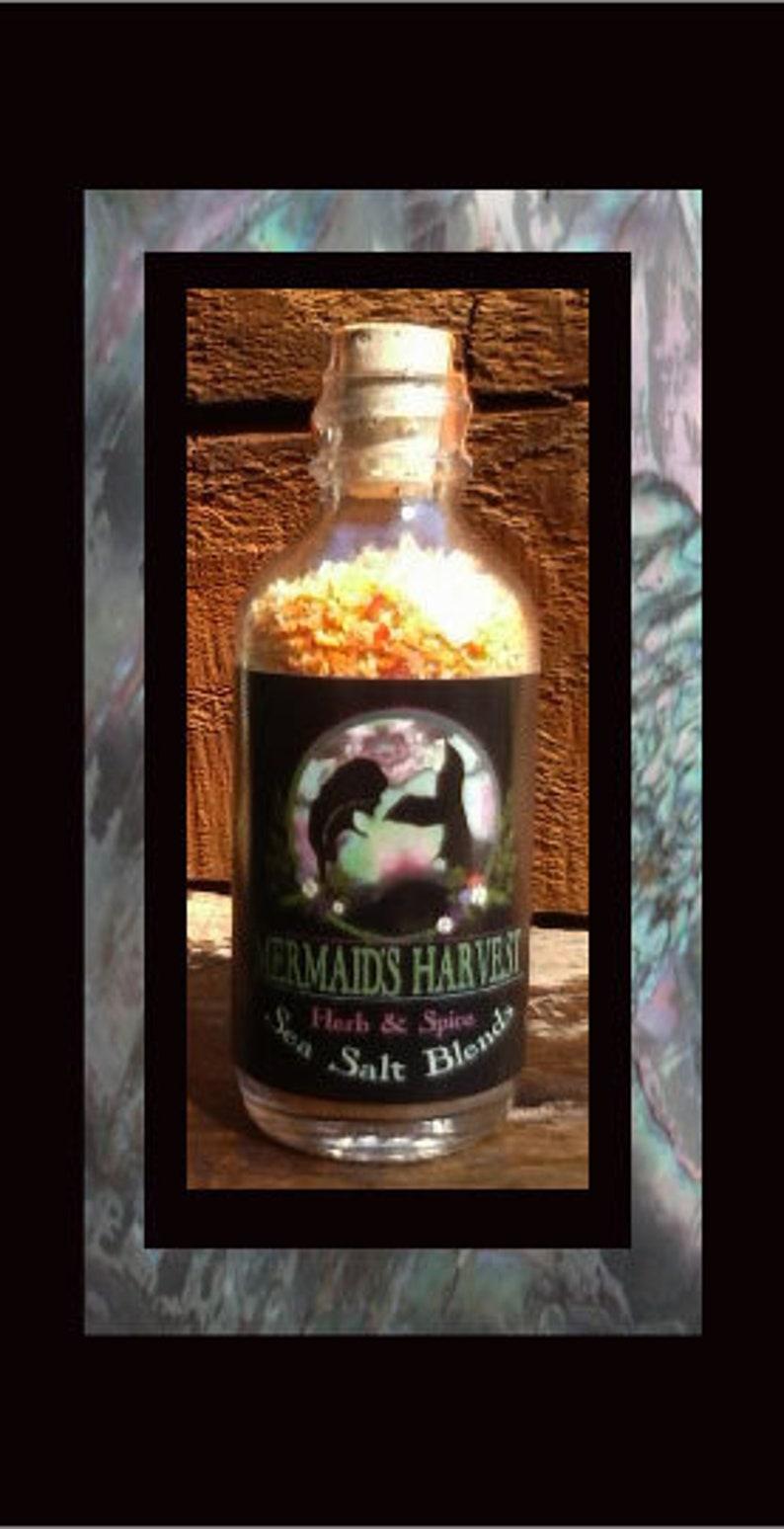 SUNFIRE ORANGE  Mermaid's Harvest Herb & Spice Sea Salt image 1