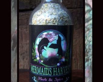 CITRUS and GARDEN HERB - Mermaid's Harvest Herb & Spice Sea Salt Blends