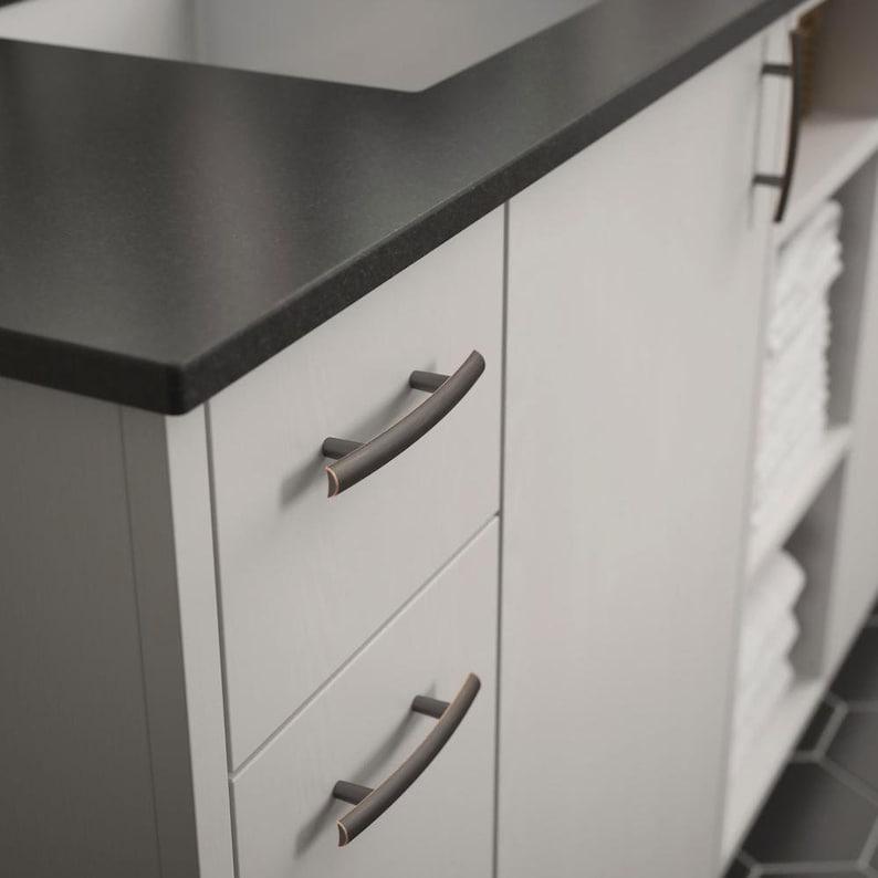 French Shabby Chic Dresser Drawer Pulls Handles  Antique Silver Cabinet Pull Handle Knobs Furniture Hardware XMLJPZ059