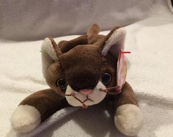 Pounce the Cat Beanie Baby 79b2d56da412