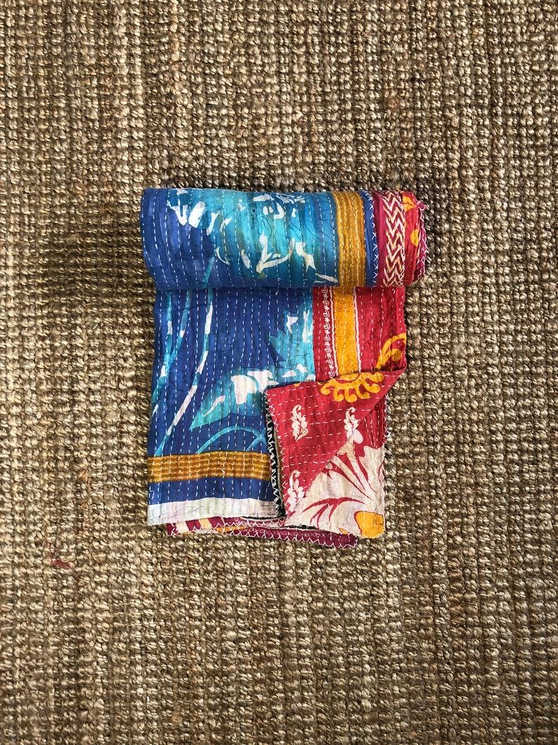 Indian Kantha Quilt 017