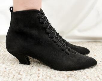 c9d2391c502 Kitten heel boots | Etsy