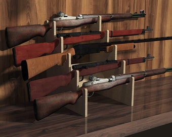 picture regarding Printable Gun Rack Template identify Gun rack Etsy