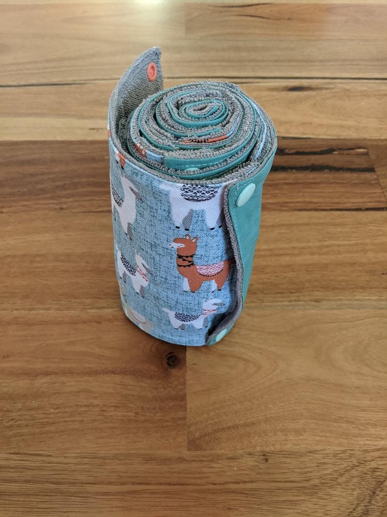 llama Reusable paper towels