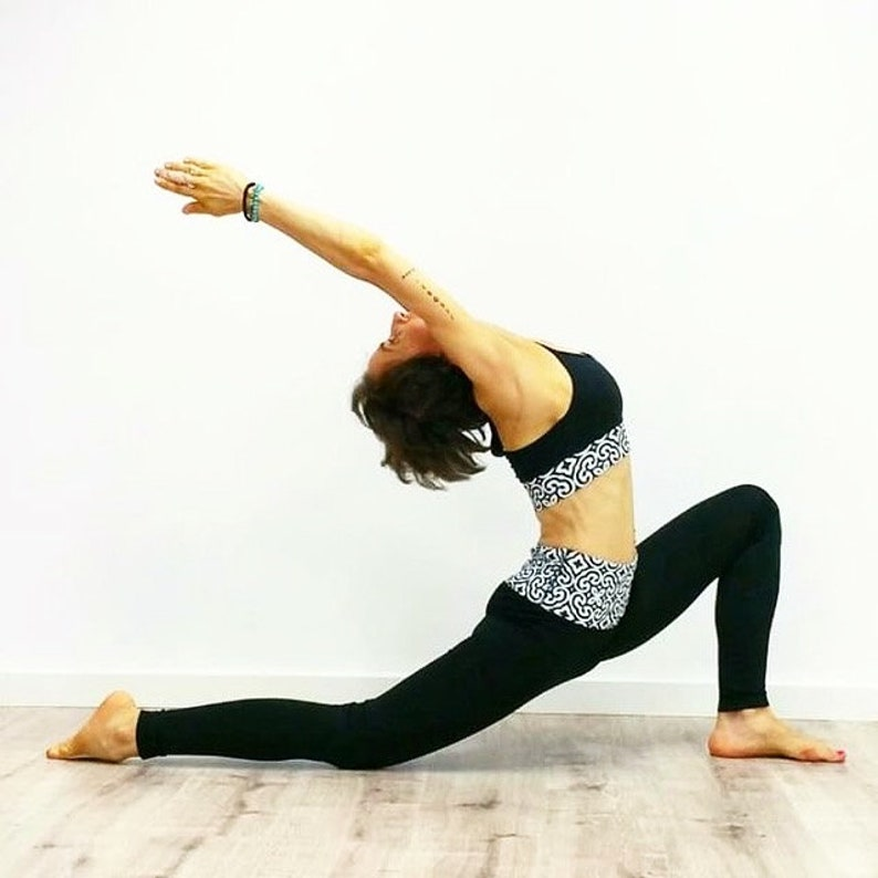 QUALITY Sport Bra /'Harmony/' Double Layering Yoga BraPilates BHWeight Training Bra Sports Bra.