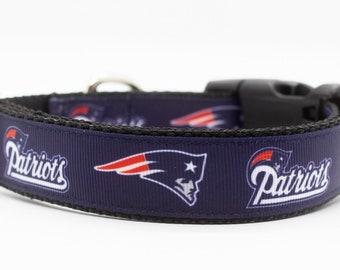 New England Patriots Dog Collar b753df135