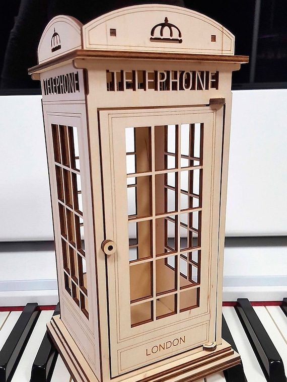 Phone booth London from Plywood Project for vector graphics | Etsy