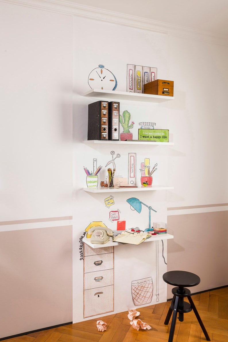 Vliestapete Office image 0