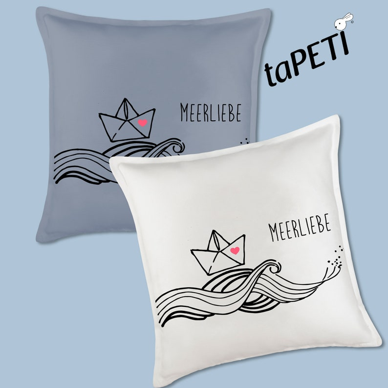 Pillow cover Sea Love image 0