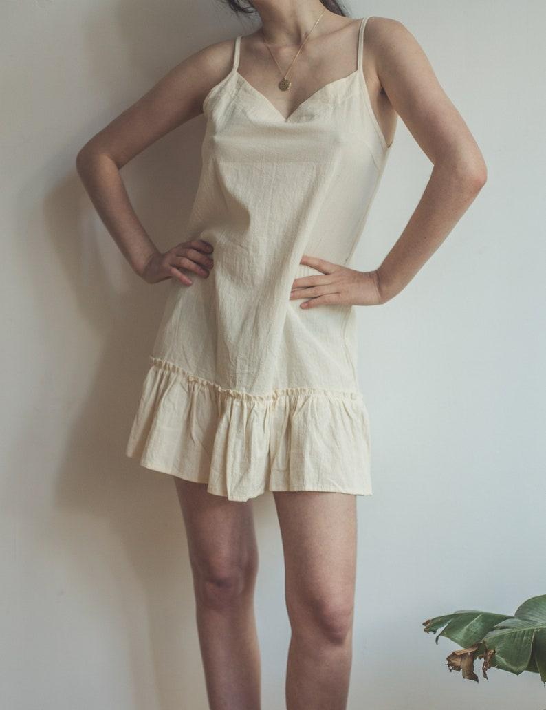 Pastell gelb kurze Sommerkleid Vintage süße Mini-Kleid   Etsy