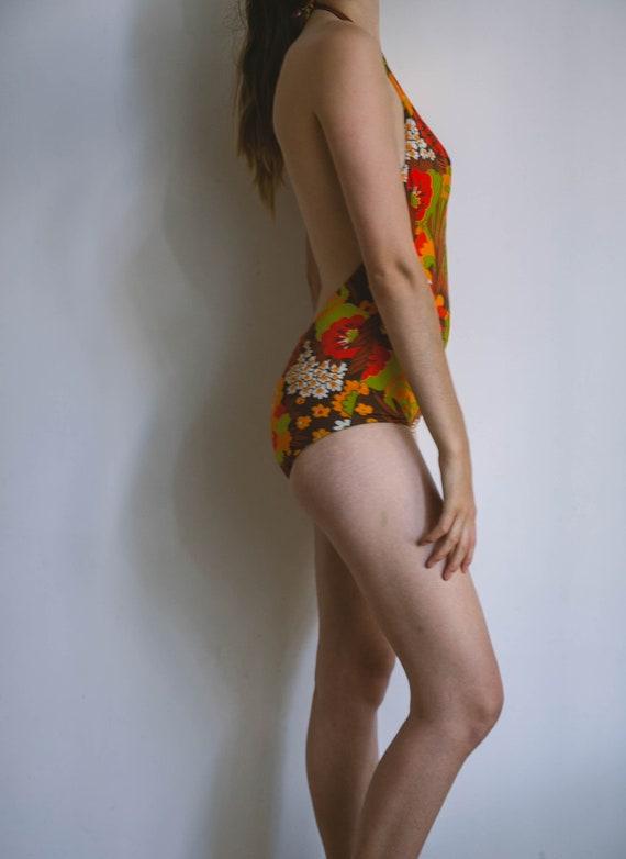 70s bathing suit, vintage body, retro swimwear, l… - image 6