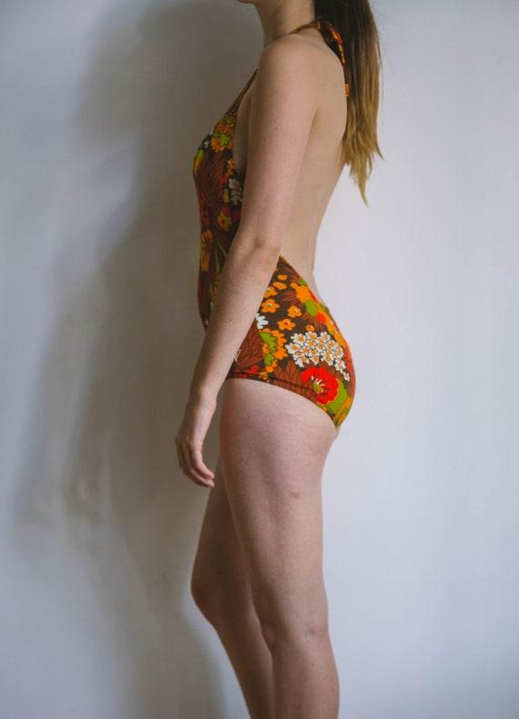 70s bathing suit, vintage body, retro swimwear, l… - image 8
