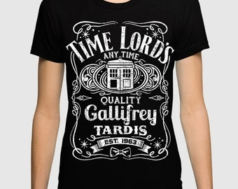 28da2044f9b Doctor Who x Jack Daniels T-Shirt