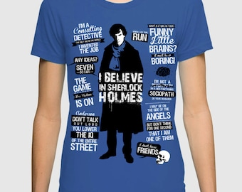 dca1a1a41290 Sherlock Original Art T-Shirt