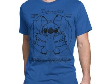 0a7960e39b3 Vitruvian Stitch Art T-Shirt