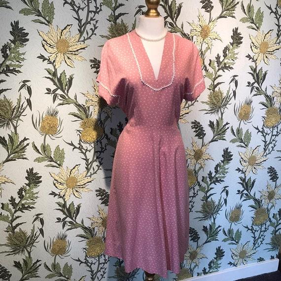 Vintage 1940s Summer Dress