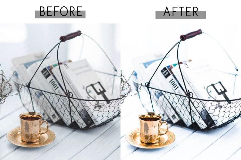 5 Mobile and Desktop Lightroom Presets Crisp and Clean Mobile Presets Blogger Presets for Lightroom Mobile