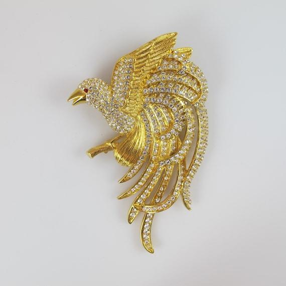 Not Joan Rivers Bird of Paradise Pin, Prototype, T