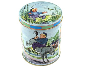 Dik Trom tin for candy Cornelis Jetses 90's