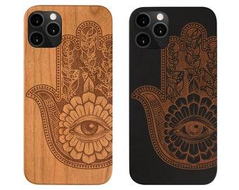 Xs 8+ S8+ Wood Case 7+ Note 8 X SE 20 Half Mandala 2 FE 10+ iPhone 12 Mini S9+ Xr 9 LE 6+,Samsung S20 Ultra 11 Pro Max