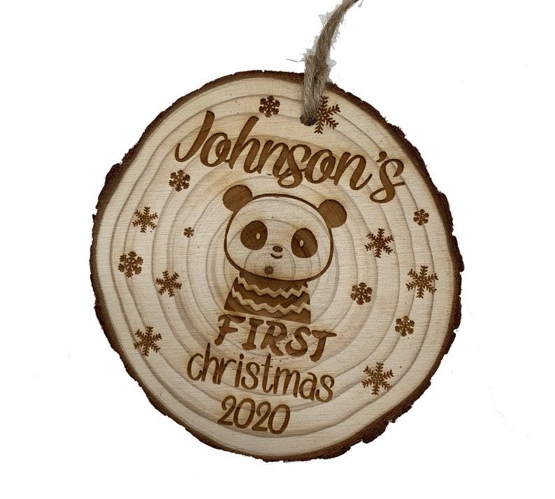 Hedgehog Ornament Lion,Koala,Unicorn Hedgehog Bed Personalized Nametag Panda,Hipo,Fox Bunny Wood Customized Ornament,Bear Dear