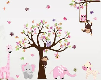 Nursery wall stickers | Etsy