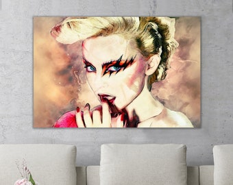 673faa6dea Kylie Minogue Music Icon Canvas Print Wall Art Framed Ready To Hang