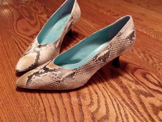 worn designer shoes