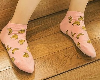 973989f0f banana funny socks