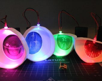 Fursuit & Mascot Eyes with LEDs Included (Optional)! Add Your Own Mesh to Customize!