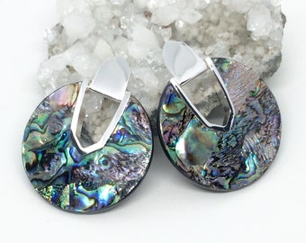 Jewelry Sets Jewelry & Watches Nice Kendra Scott Inspired New 3d Abalone Complete Set In Silver Tone
