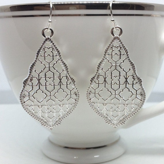 Kendra Scott *Inspired* Filigree Earrings by Etsy