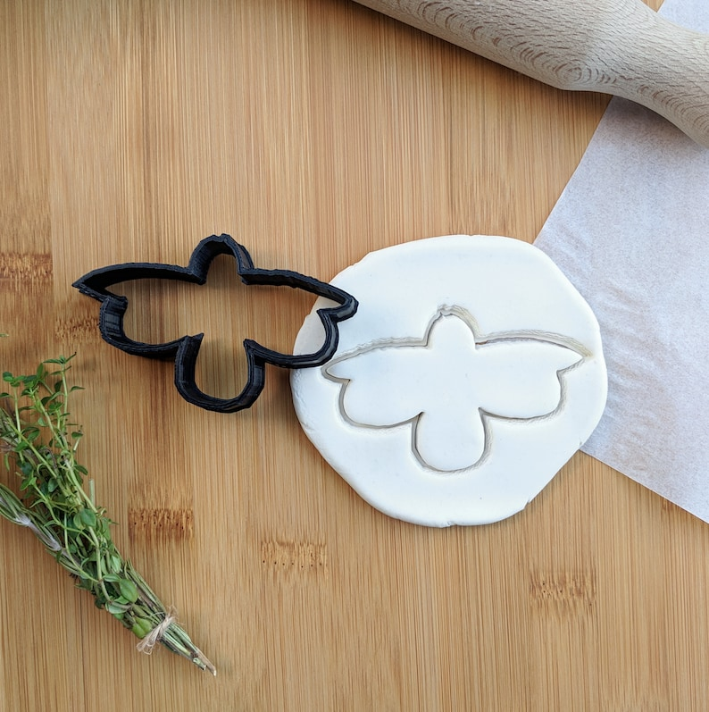 lightning bug twilight Firefly Cookie Cutter cookie stencils baking tools cookie stamp 3D Printed party spring fondant