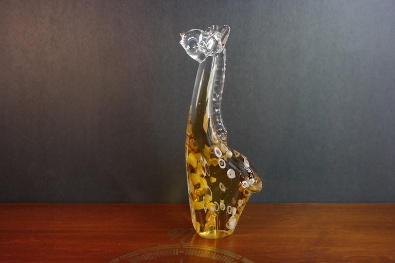 Vintage Murano or Murano style Glass Giraffe