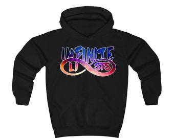 ee9d183cab1 Kids Infinite Lists Logo Hoodie