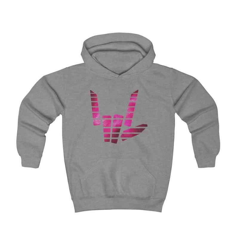 Kids Share The Love Pink Galaxy Logo Hoodie Stephen Sharer Merch girls hoodie Kids NEW Design stephen sharer shirt,pink logo Inspired By