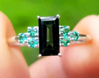 Certified 12.500 Value Natural Emerald /& Diamond Elephant Ring Masterpiece of Art Ruby eyes Crystal Tail Emerald Trunk Master Craftsmanship