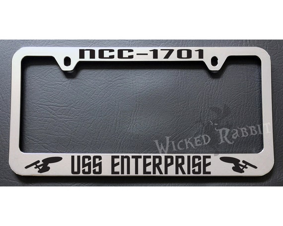 Black METAL My Other Ride Is A Unicorn License Plate Frame Auto Deadpool