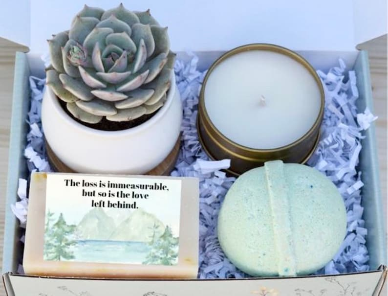 Immeasurable Loss Spa Gift  Sympathy Spa Gift  Sorry For image 0
